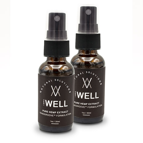 VeriWell Pure Hemp Extract Spray - 2 Pack (Cannot Ship  to IA, ID, ME, NC, ND, NE, NY, or OH)